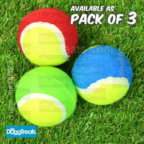 Dog Tennis Balls - 3 Pack - Ancol  - 6 cm