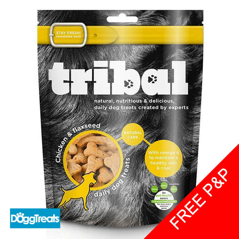Tribal Chicken & Flaxseed Treats