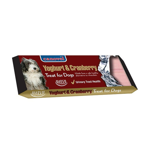 Canovel Dog Treat Bar Yoghurt & Cranberry - 50g
