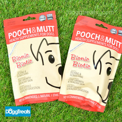 Bionic Biotic Dog Natural Health Supplement Skin Coat and Digestion Pooch & Mutt 200g