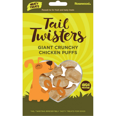Tail Twisters Crunchy Chicken Puffs