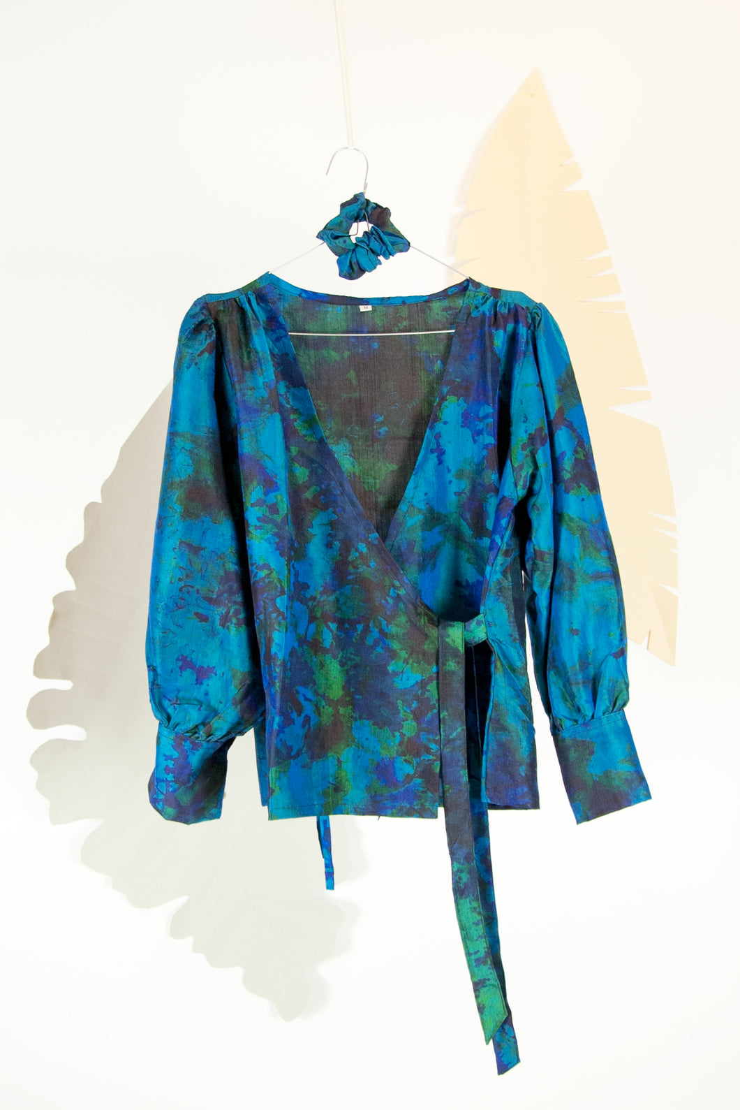 A Splash of Batik Blouse - M #02