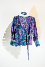 A Splash of Batik Blouse - S #03