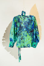 A Splash of Batik Blouse - M #05