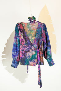 A Splash of Batik Blouse - M #07