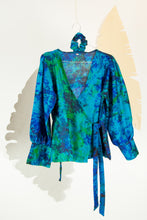 A Splash of Batik Blouse - M #12