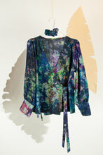 A Splash of Batik Blouse - M #21