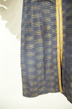 Ikat Saree Kurta Dress - M #03
