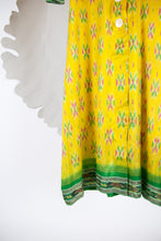 Ikat Saree Wrap Dress - M #17