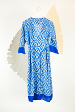 Ikat Saree Wrap Dress - M #21