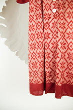 Ikat Saree Wrap Dress - M #25