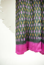 Ikat Saree Wrap Dress - S #32