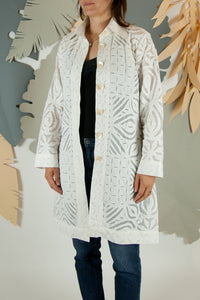 Appliqué Cloud Robe - M #04