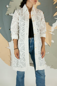 Appliqué Cloud Robe - S #05