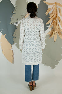 Appliqué Cloud Robe - XS #05
