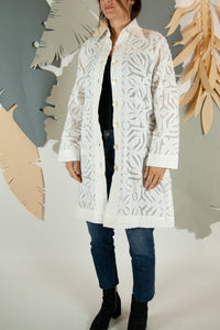 Appliqué Cloud Robe - L #06