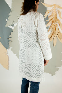 Appliqué Cloud Robe - M #06