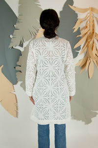 Appliqué Cloud Robe - S #06