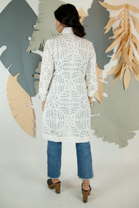 Appliqué Cloud Robe - XS #06