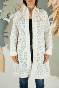 Appliqué Cloud Robe - L #08