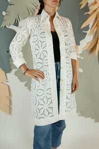 Appliqué Cloud Robe - S #08