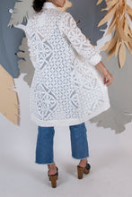 Appliqué Cloud Robe - XS #08