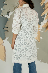 Appliqué Cloud Robe - S #09