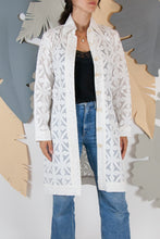 Appliqué Cloud Robe - XS #09