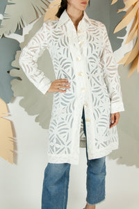 Appliqué Cloud Robe - S #10
