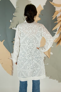 Appliqué Cloud Robe - S #12
