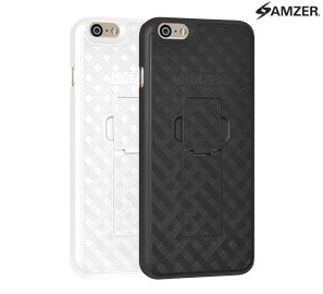Amzer Snap On Hard Case with Kickstand for iPhone 6/6S Plus - Shop Android