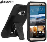 Amzer Double Layer Hybrid Case with Kickstand - Shop Android