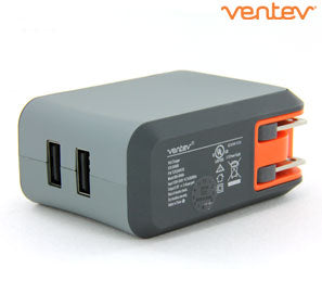 Dual 2.4A USB Universal Rapid Wall Charger - Shop Android
