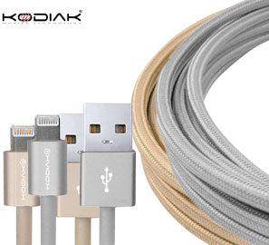 Apple Lightning MFI Charging-Data Cable 6.6ft  with Aluminum Housing - Shop Android