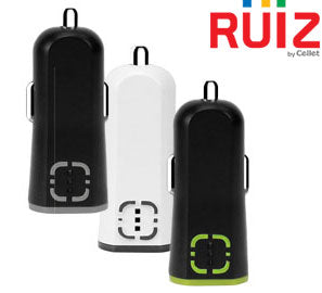 2.1A (10W) USB Car Charger Ruiz - Shop Android