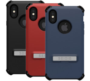 Seidio DILEX Case with Kickstand for Apple iPhone X