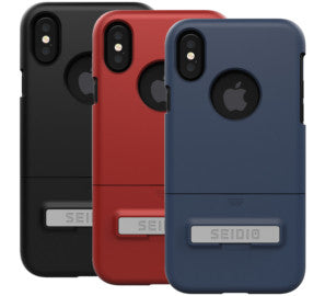 Seidio SURFACE Case with Metal Kickstand for Apple iPhone X