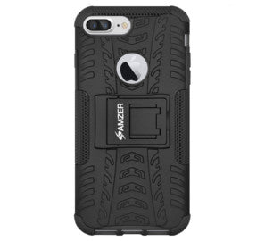 Amzer Hybrid Warrior Case for iPhone 8 Plus - Shop Android