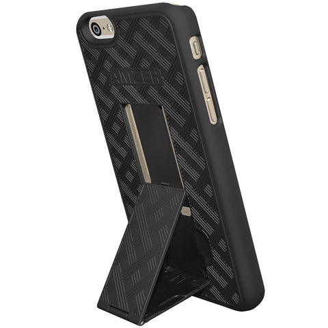 Amzer Snap On Case with Kickstand for iPhone 6/6S - Shop Android
