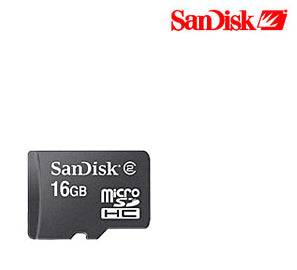 SanDisk 16GB microSDHC Card - Shop Android