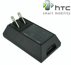 HTC AC to USB 1A Adapter Folding Blade Wall Charger - Shop Android