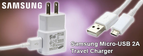Samsung Micro-USB 2A Travel Charger