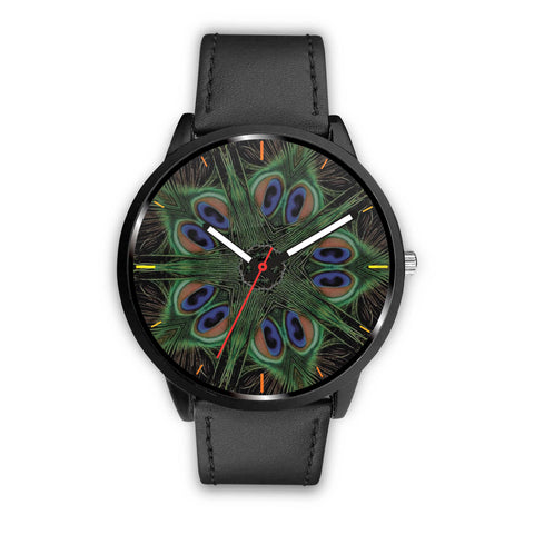 Peacock Feather Watch