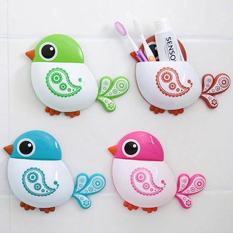 Gorgeous Bird Toothbrush Holder - Birds' Splendor