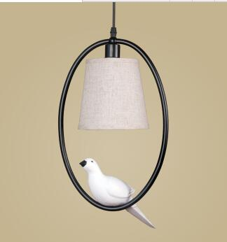 Vintage Bird  Elegant lamp - Birds' Splendor