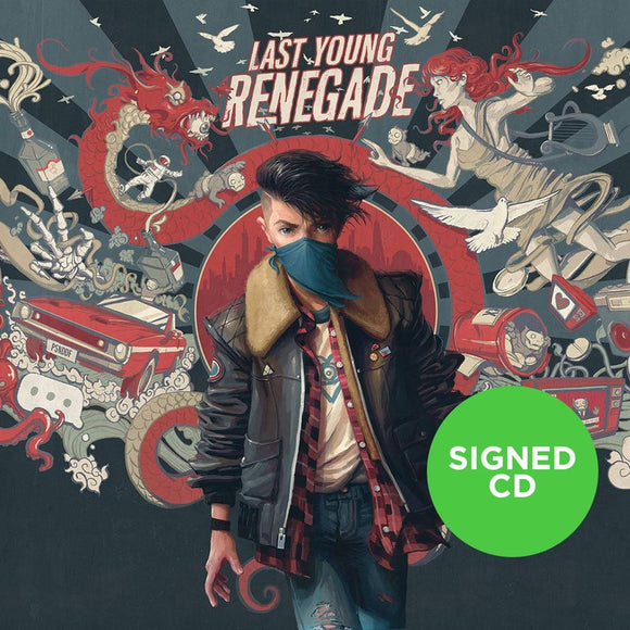 All Time Low - Last Young Renegade (Signed CD)