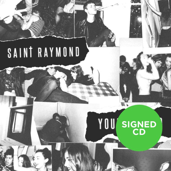 Saint Raymond - Young Blood (Signed CD Album)
