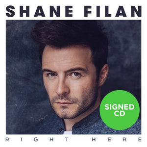 Shane Filan - Right Here (Signed Album)