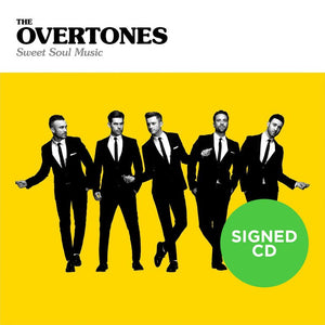 The Overtones - Sweet Soul Music (Signed Album)