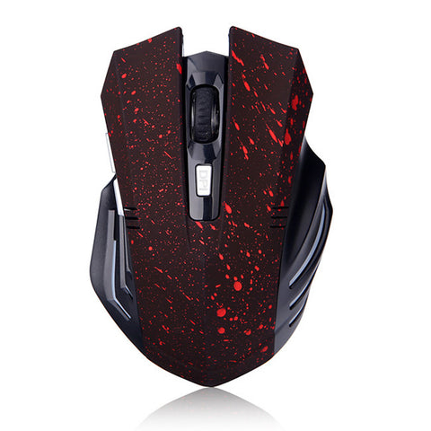 PC Wireless Gaming Mouse (Paint Splatter)